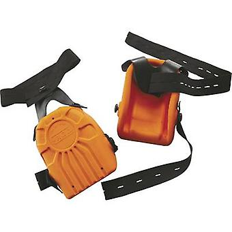 L+D Upixx 2484 PU foam knee pad DIN EN 14404 Power setting: 2 Orange 1 Pair