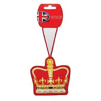 Union Jack käyttää Royal Crown joulukuusen koristelu