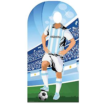 World Cup 2018 Argentinië Voetbal Karton Cutout / Standee Stand-in