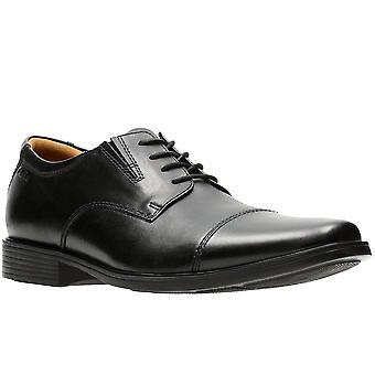 Clarks Tilden Cap-Mens Wide-Schnür Derby-Schuhe