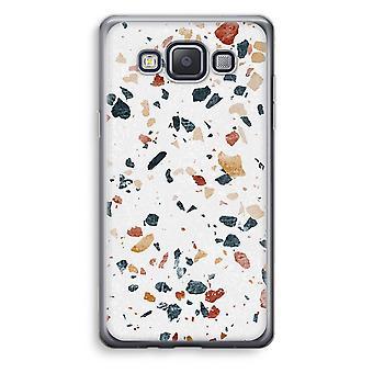 Samsung Galaxy A3 (2015) gjennomsiktig sak (myk) - Terrazzo N ° 4