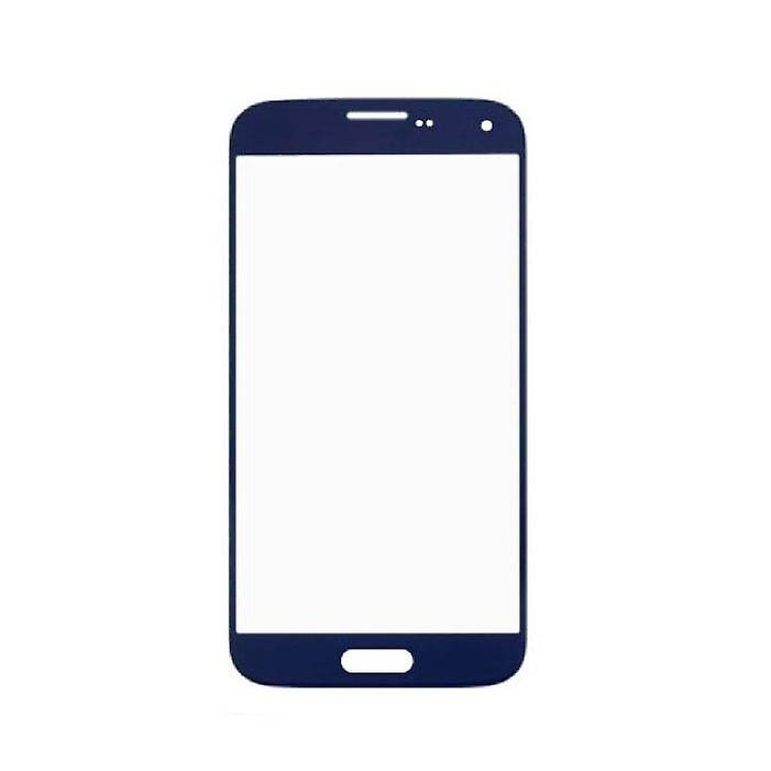 Stuff Certified® Samsung Galaxy S5 i9600 A + Quality Front Glass - Blue