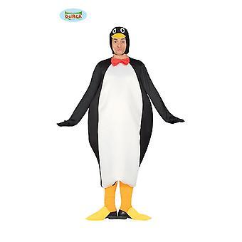 Traje animal adulto señora traje traje de pingüino