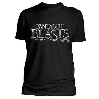 Bestie fantastiche t-shirt e dove trovarli logo