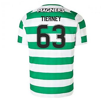 2018-2019 Celtic Home Football Shirt (Tierney 63)