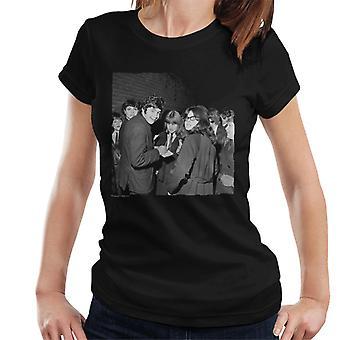 TV kertaa David Essex allekirjoittamisesta Autographs naisten t-paita