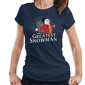 Christmas The Greatest Snowman Women's T-Shirt