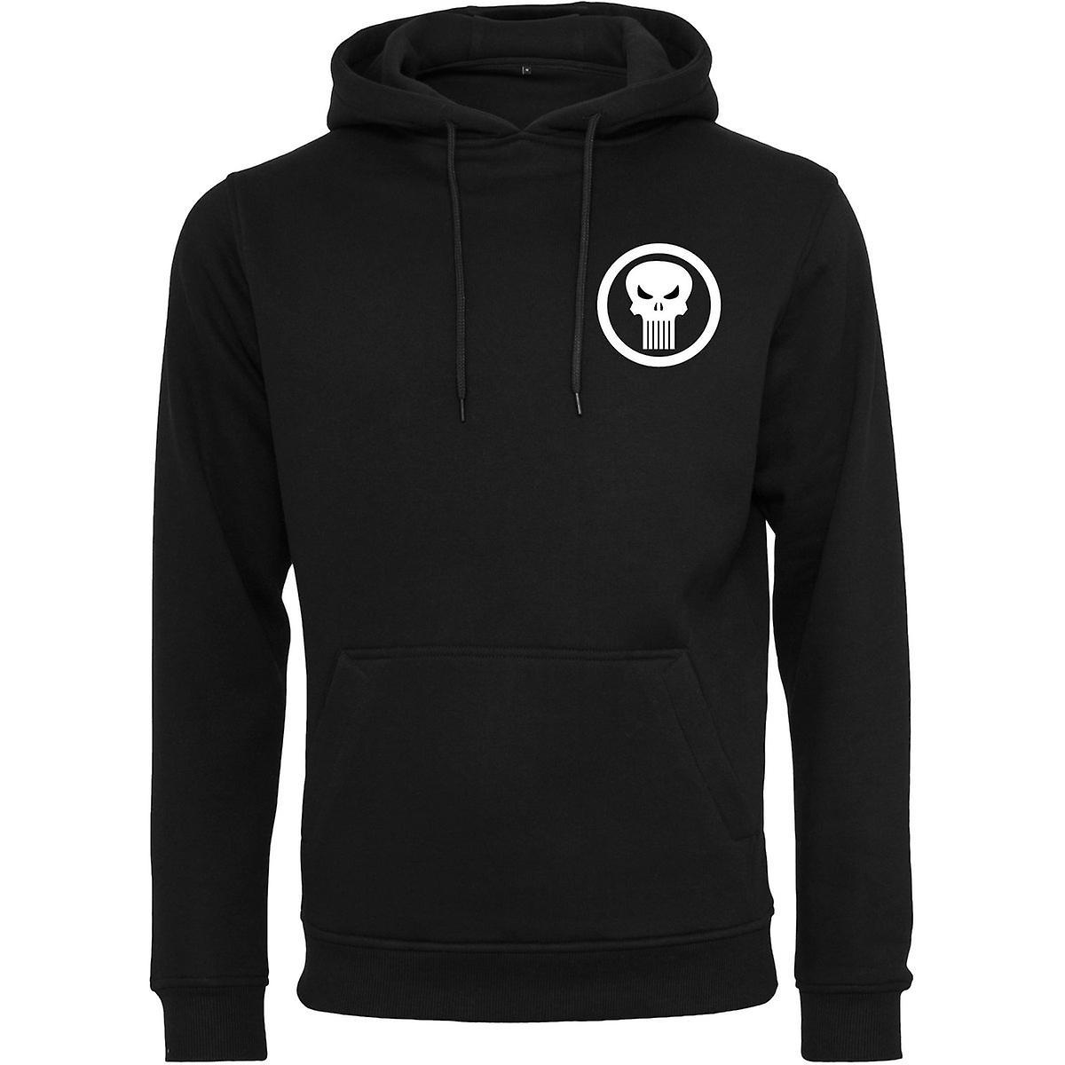 Merchcode Fleece Hoody - THE PUNISHER black