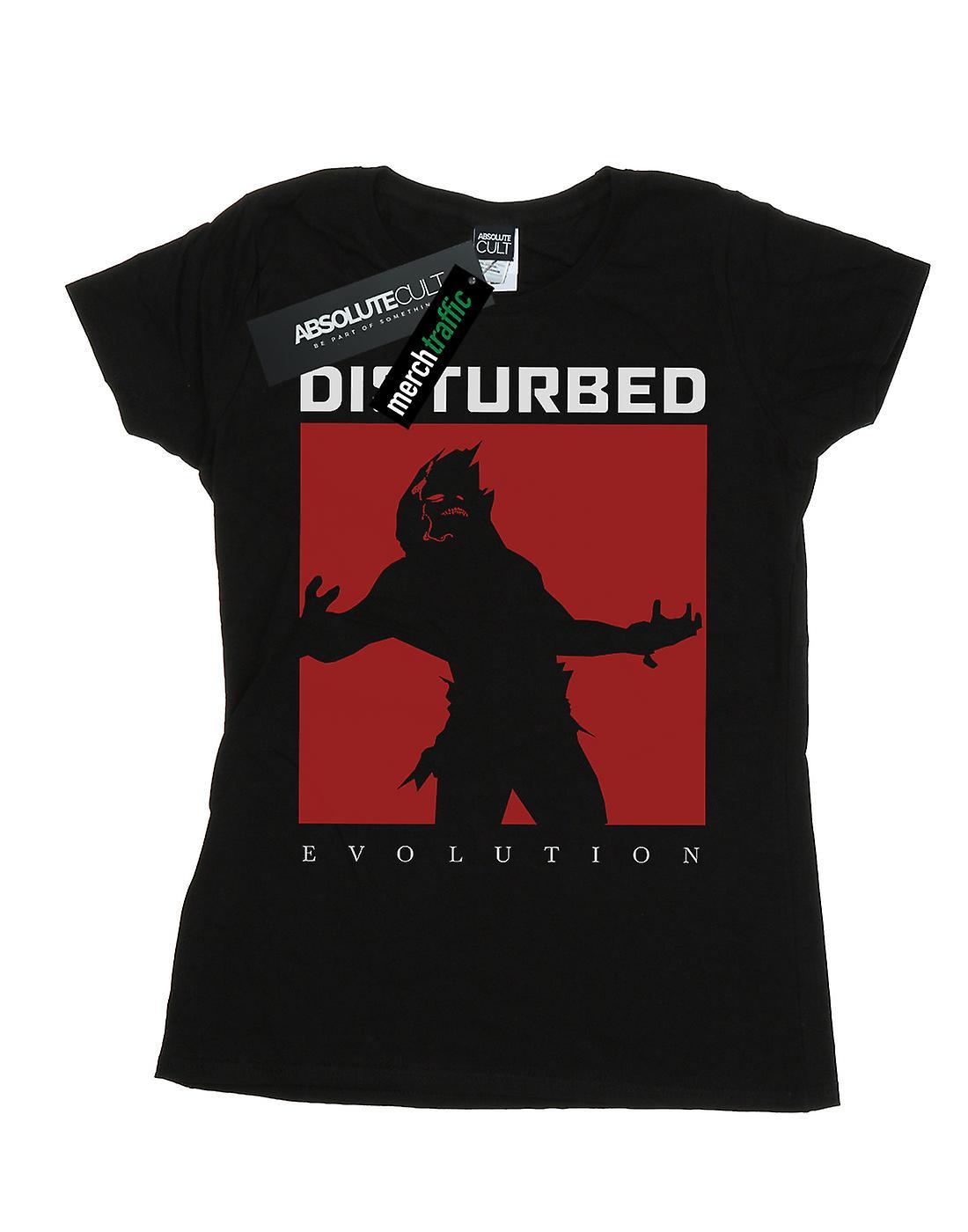 Disturbed Women's Evolution Square T-Shirt