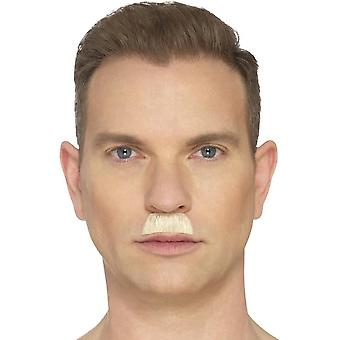 The Toothbrush Moustache, Blonde, Hand Knotted