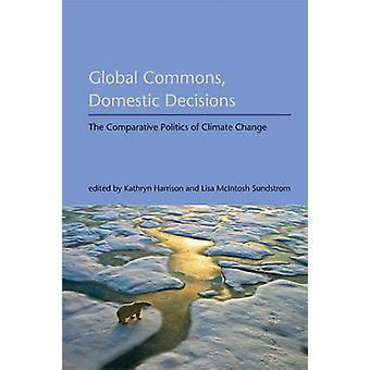 Global Commons - inhemska beslut - Clim jämförande politik