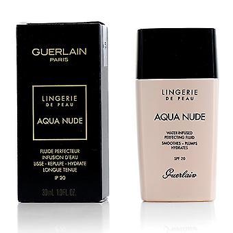 Guerlain lingerie de peau Aqua naakt Foundation SPF 20-# 00n porselein-30ml/1oz