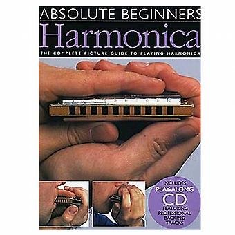 Absolute Beginners Harmonica Book & CD