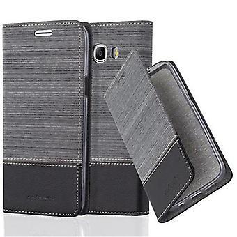Hülle für Samsung Galaxy J7 2016 Klappbare Handyhülle - Cover - mit Standfunktion und Kartenfach