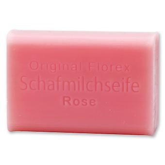 Florex sheep milk SOAP - Rose Diana - stunning romantic rose scent 100 g