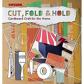 Cut, Fold and Hold Cardboard Craft for the Home