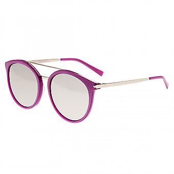 Sixty One Moreno Polarized Sunglasses - Purple/Silver