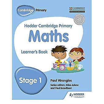 Hodder Cambridge primære matematikk lærendes bok 1 (Hodder Cambridge primære Science)