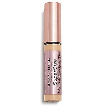 Makeup Revolution Conceal & Define Supersize Concealer C8