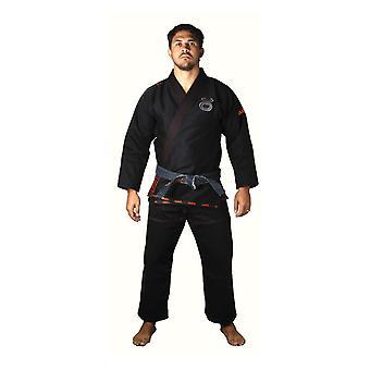 Jaco Mens Performance Jiu Jitsu Gi - Black - mma bjj grappling
