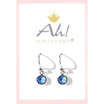 Dangle Earrings with Genuine Crystals From Swarovski
