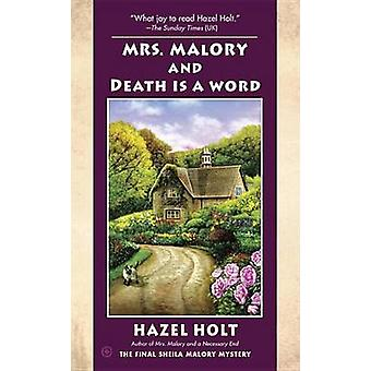 Mrs. Malory and Death Is a Word by Hazel Holt - 9781101990636 Book