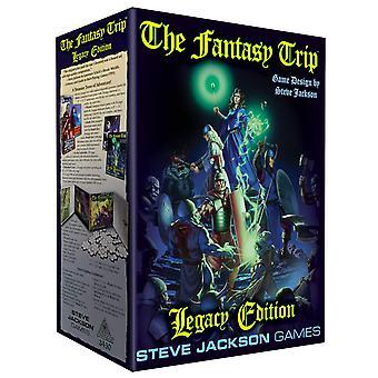 La edición de Fantasy Trip Legacy Edition juego de rol Limited.