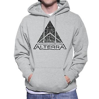 Alterra logo Subnautica musta Miesten huppari