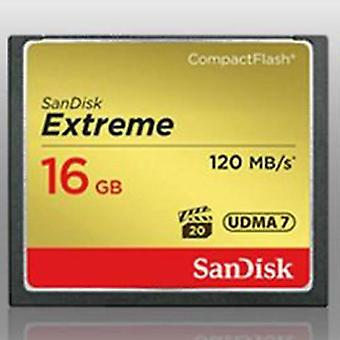 SanDisk Extreme CompactFlash kaart