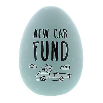 Eggcellent nest egg Blue nye bil fond