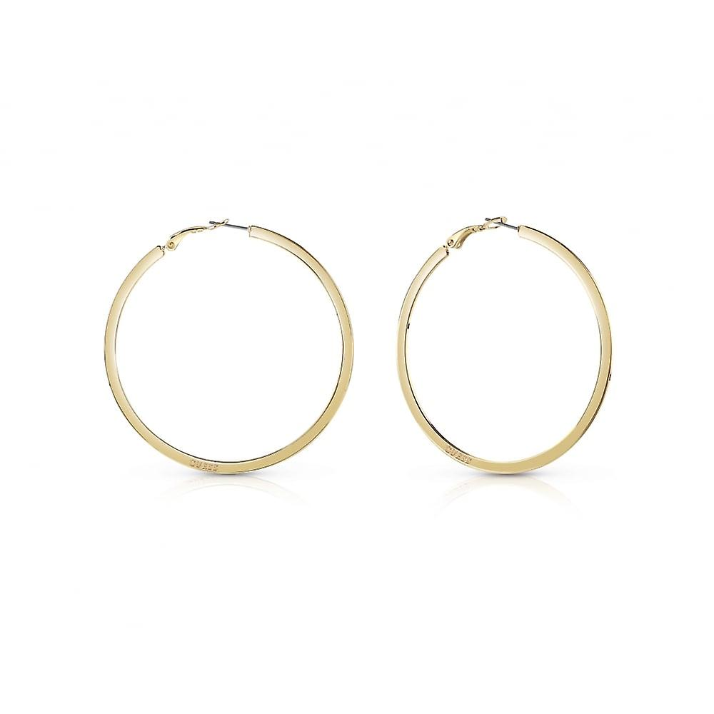 Guess Yellow Gold Plated 'Hoops I Did It Again' Earrings