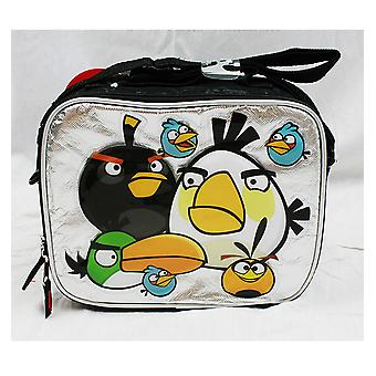 Bolsa de almuerzo - Angry Birds - Big White Bird Silver/Black New Boys Gifts an10892