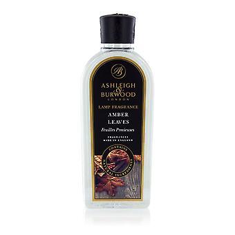 Ashleigh & Burwood 500ml Premium Fragrance Diffusion Lamp Oil Refill Bottle Amber Leaves