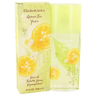 Green Tea Yuzu Eau De Toilette Spray By Elizabeth Arden   532856 100 ml