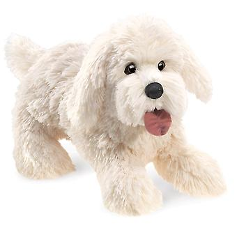 Hand Puppet - Folkmanis - Dog Panting Puppet New Toys Soft Doll Plush 3053