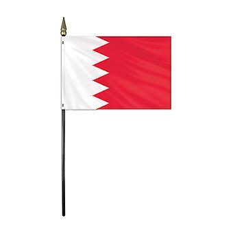 Bahrain taulukon lippu pohja ja kiinni