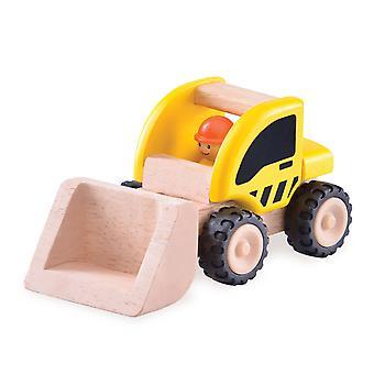 Wonderworld Wooden Mini Excavator