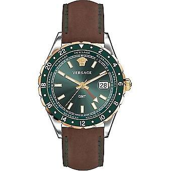 Relógio Versace V11090017 Hellenyium GMT para homem