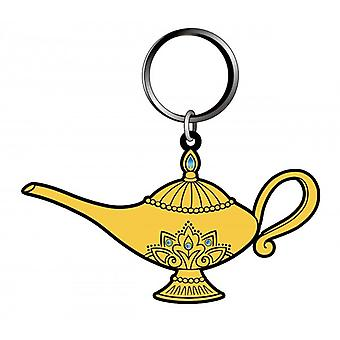 PVC Key Chain - Alladin - Aladdin's Lamp Soft Touch New 86231