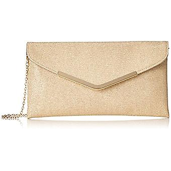 L.CREDI 309-7299 Women's Gold Bag (Rose Gold 68) 2x14x28 cm (B x H x T)