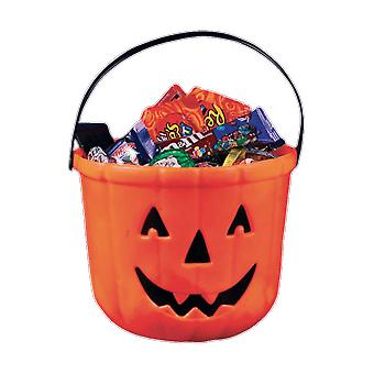 Halloween Trick or Treat Pumpkin Bucket Kids Accessory Loot Bag