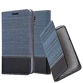 Cadorabo tilfældet for LG X SCREEN sag Cover-telefon tilfældet med magnetisk lukning, stativ funktion og kort rum-sag Cover sag sag case sag bog folde stil