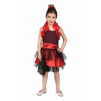 Espanjan tyttö Spaniard lasten puku Flamenco puku puku lapset