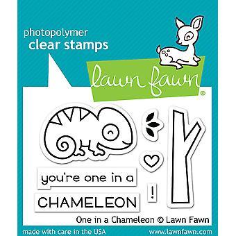 Gazon Fawn Clear Stamps - Een in een kameleon