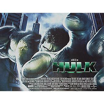 The Hulk (Regular) (Single Sided) Original Cinema Poster