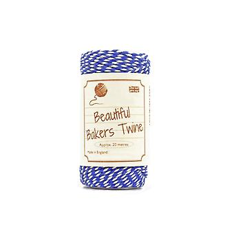 20m Oxford Blue Natural Bakers Twine for Crafts & Gift Wrapping