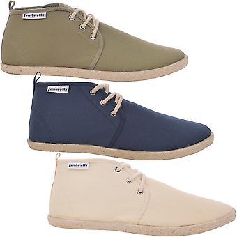 Lambretta Mens Gobi Chukka Slip On Casual Laces Summer Desert Boots Pumps Shoes