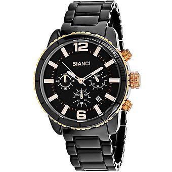Roberto Bianci Men's Amadeo Black Dial Uhr - RB58751