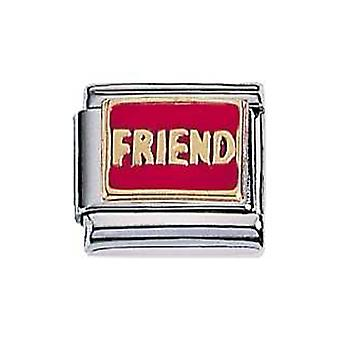 ZOPPINI S.Steel Friends Charm