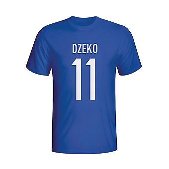 Edin Dzeko Bosnia Hero camiseta (azul) - niños